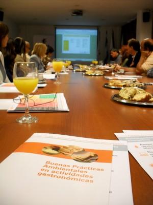 Se presentó el Manual de Buenas Prácticas Ambientales de la Industria Gastronómica