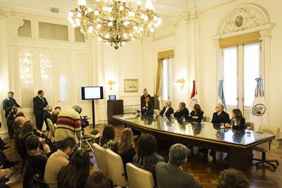 Lanzamiento del Salón Internacional del Ambiente Rosario 2015