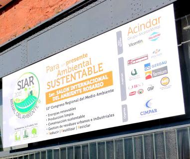 Se desarrolló con éxito el Salón Internacional del Ambiente Rosario
