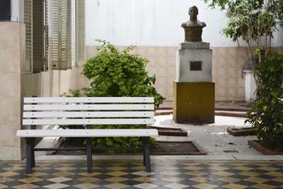 La Escuela Arzeno fue la ganadora del mobiliario de plástico reciclado