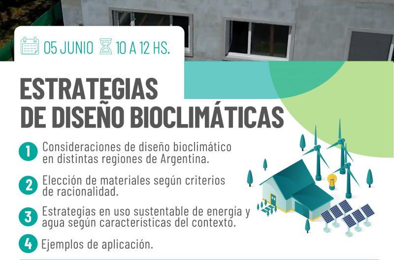 Videoconferencia: Estrategias de Diseño Bioclimáticas